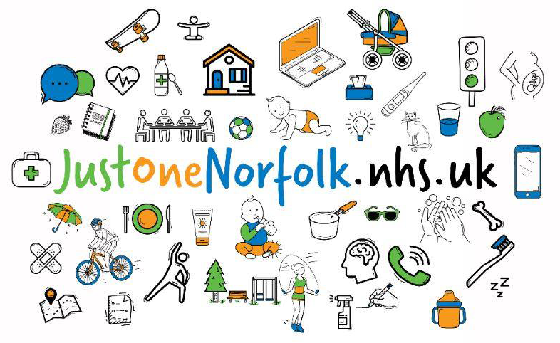 Just One Norfolk graphic
