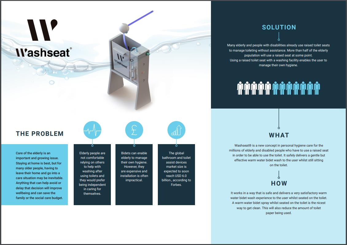 Washseat infographic