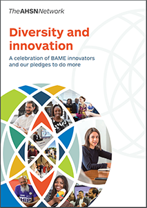AHSN diversity and innovation report brochure cover WEB