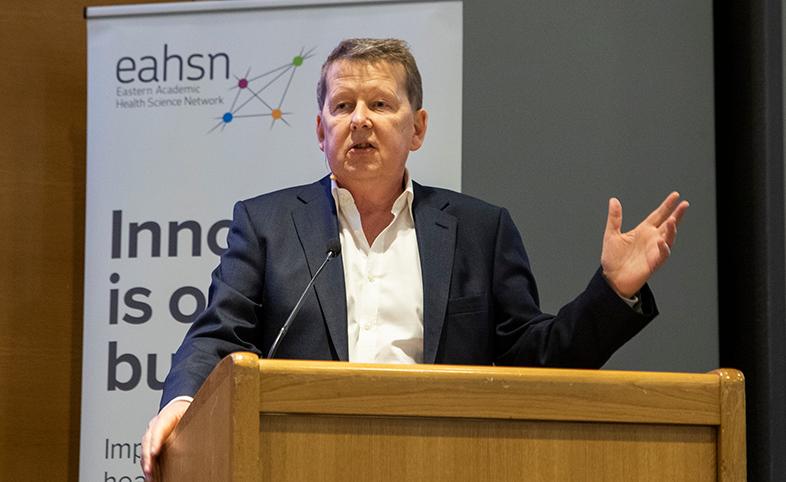 Bill Turnbull cancer innovation exchange Eastern AHSN