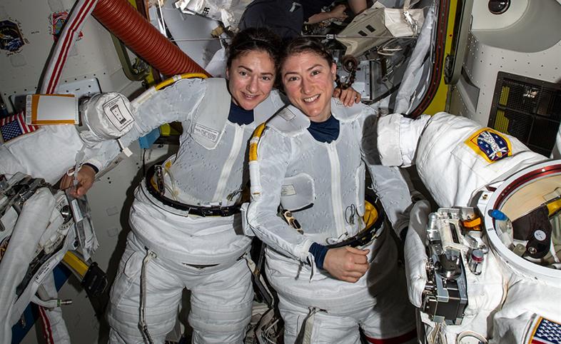 Christina Koch NASA human factors