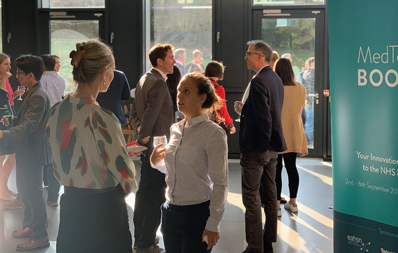 Delegates gather for MedTechBOOST sprint programme to develop AI solutions
