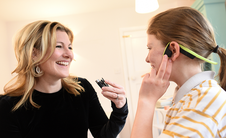 Tamsin Holland Brown Hear Glue Ear app child and audiologist MedTech