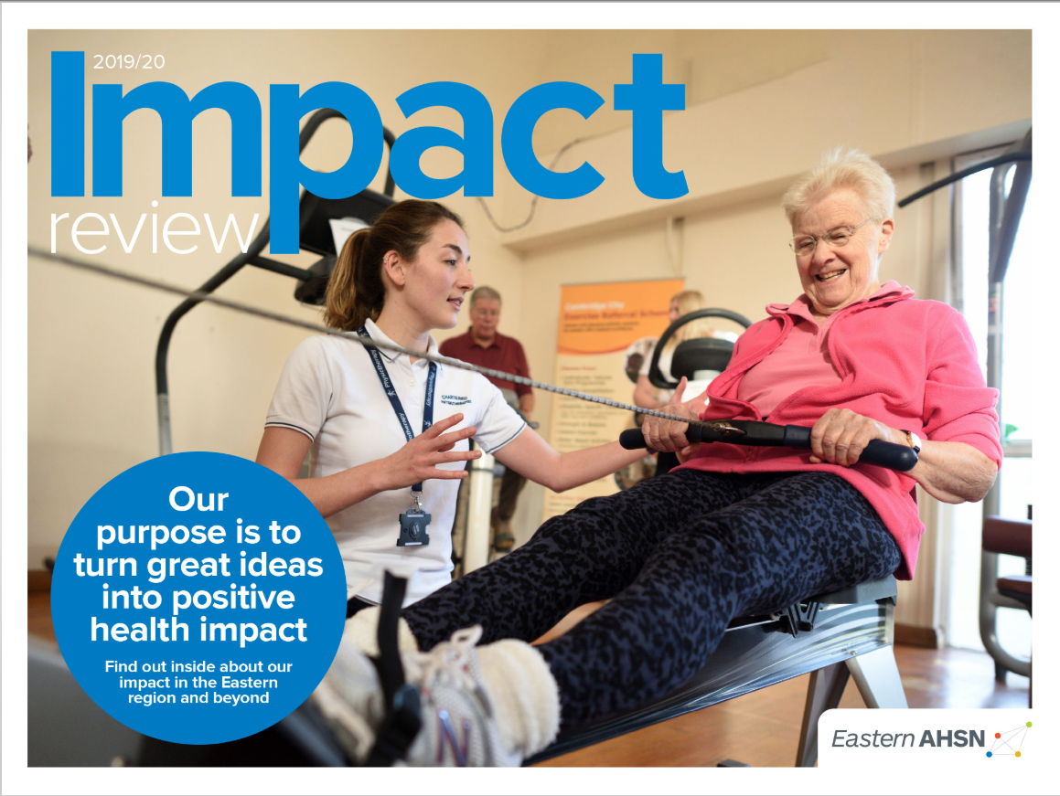 Eastern AHSN impact review 19-20 cover