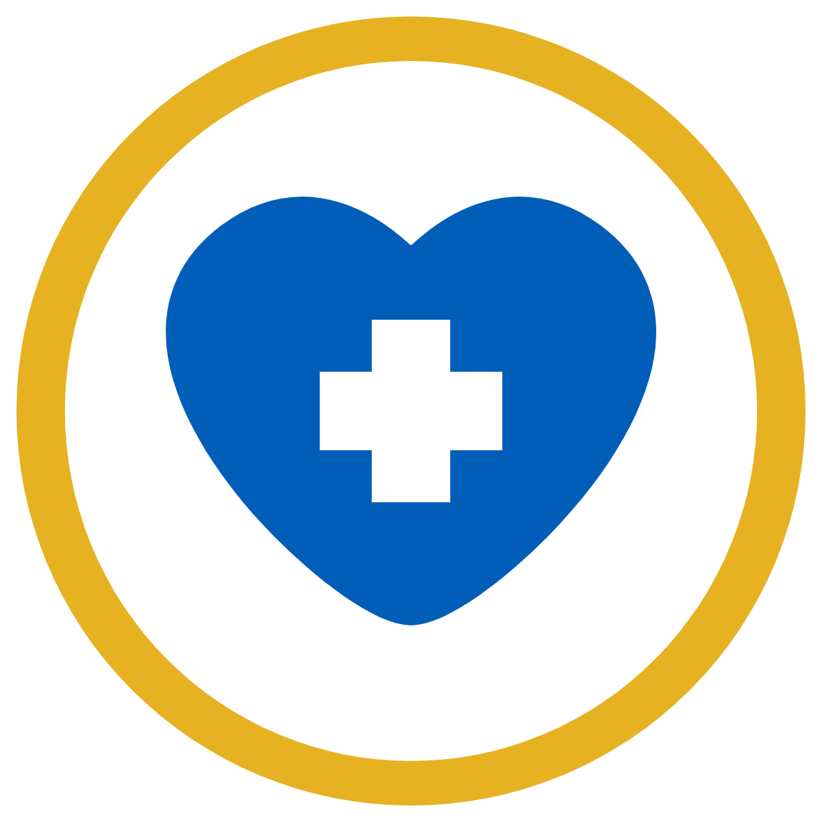 Heart health cardiac rehab icon
