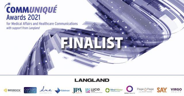 Communique finalist banner 2021