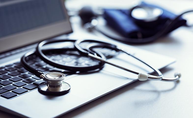 Stethoscope GP online consultation primary care